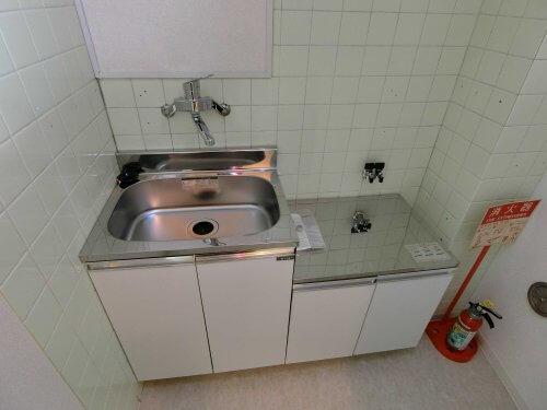 キッチン・ガス台新規交換済みです。(キッチン)