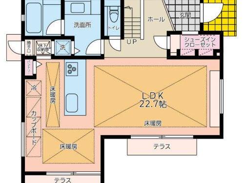 1階間取図(間取)